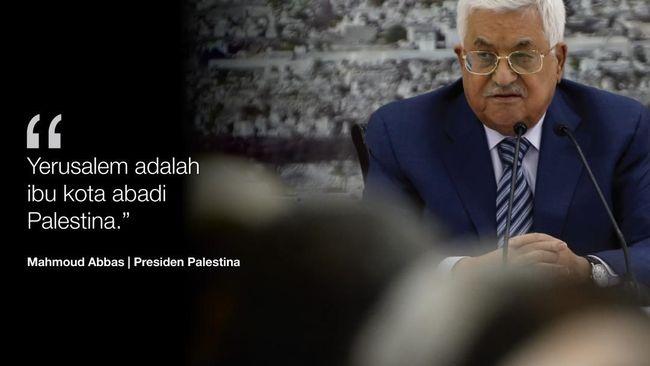 Abbas: Dukungan PBB soal Yerusalem Kemenangan bagi Palestina