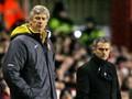 Jelang Man United vs Arsenal, Wenger 2 Kali Kalahkan Mourinho