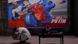 FOTO: Kala Vladimir Putin Jadi 'Superhero'