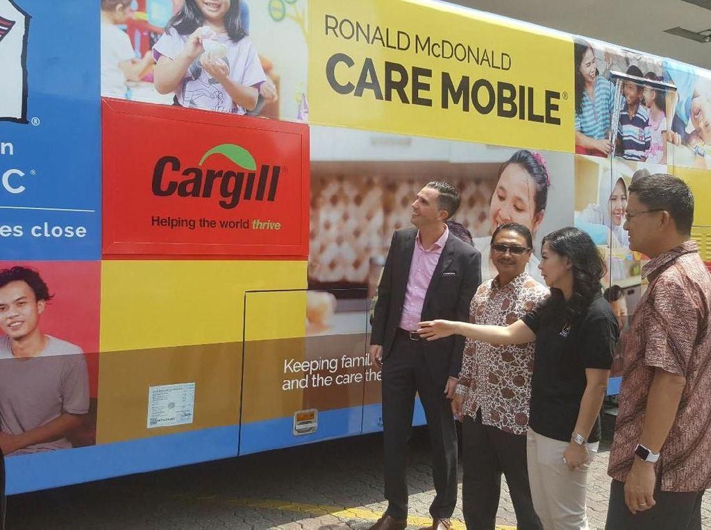 Donasi ini juga untuk mendukung penyediaan rumah singgah kedua yang memberikan tempat bagi keluarga dengan pasien anak untuk dapat tinggal pada saat anak mereka mendapat perawatan kesehatan di Rumah Sakit Cipto Mangunkusumo (RSCM) Jakarta. Foto: dok. Cargill