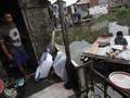 FOTO: Wajah Kampung yang Bertahun-tahun Mengapung