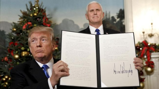 PKS Nilai Klaim Trump Soal Yerusalem Jadi Blunder Politik AS