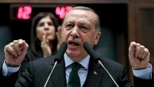 Erdogan Tegaskan Tak Ada yang Bisa Ambil Tanah Palestina