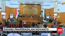 Hakim Sarankan Setya Novanto Cabut Gugatan Prapradilan