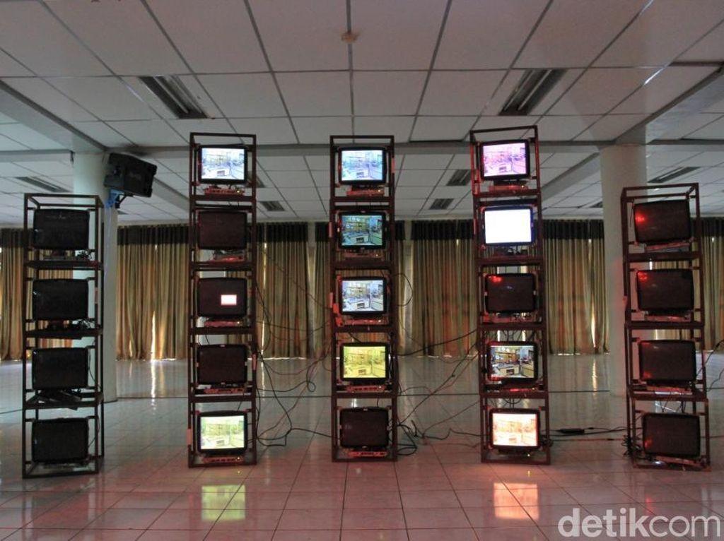 Lebih dari 50 karya seni digital hasil karya seniman digital dari enam negara termasuk Indonesia meramaikan BIDAF 2017. Foto: Wisma Putra/ detikHOT