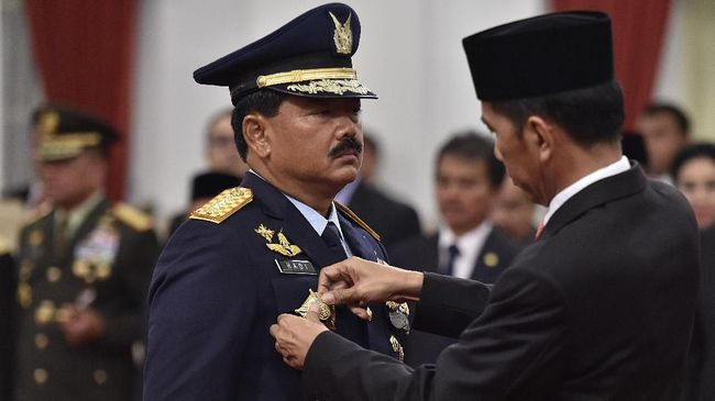 Jokowi Teken Perpres Hidupkan Posisi Wakil Panglima TNI