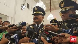 Panglima TNI Dukung KPK Usut Tuntas Korupsi Helikopter AW-101