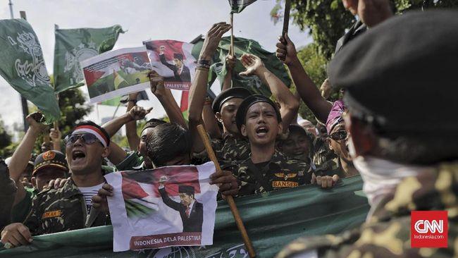 Protes Yerusalem, Massa NU Akan Aksi Lagi di Depan Kedubes AS