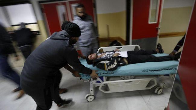 Jet Israel Gempur Gaza, 25 Terluka