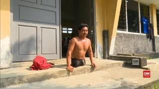 VIDEO: Perenang Disabilitas Seberangi Selat Madura
