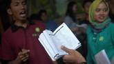Tempat berguru bahasa Inggris secara informal tersebut terletak di Dusun Parakan, Desa Ngargogondo, Kecamatan Borobudur, Magelang, Jawa Tengah. (ANTARA FOTO/Sigid Kurniawan)
