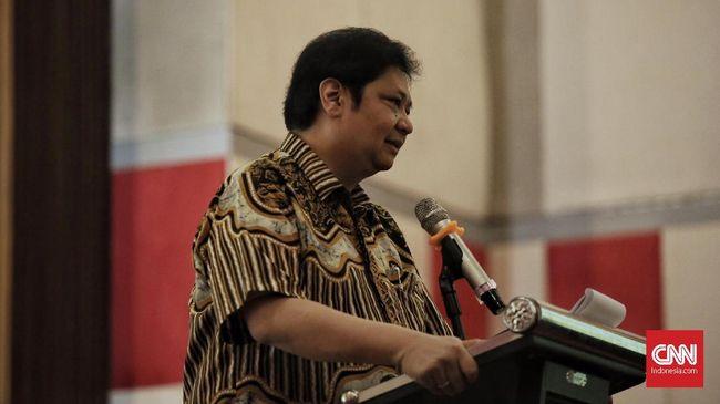Usai Terpilih, Airlangga Pastikan Golkar Tetap Dukung Jokowi