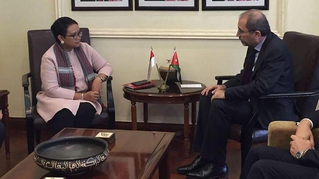 Indonesia Gandeng Yordania dalam Diplomasi soal Palestina
