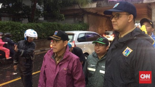 Anies: Banjir Jakarta karena Proyek MRT-LRT Hambat Aliran Air