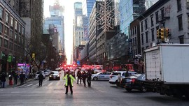 Ledakan Bom New York Lukai 4 Orang