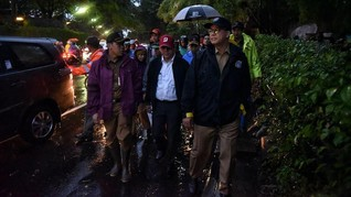 Anies soal Banjir Jakarta: Kami Disumpah untuk Melayani Warga