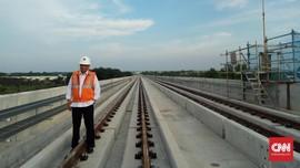 Menhub Bantah Ada Pembengkakan Dana LRT