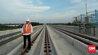 INKA: Gerbong LRT untuk Asian Games 2018 Tiba di Palembang