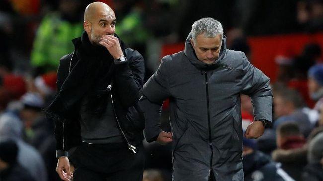 Jose Mourinho Tolak Kibarkan Bendera Putih pada ManCity