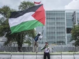 AS Peringatkan Warga atas Aksi Bela Palestina di Indonesia