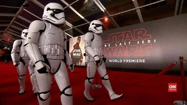 VIDEO: Malam Penayangan Perdana 'Star Wars: The Last Jedi'