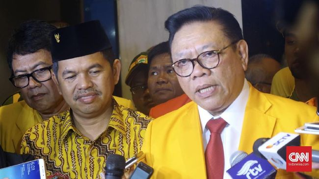 Kosgoro Dukung Airlangga Pimpin Lagi Partai Golkar
