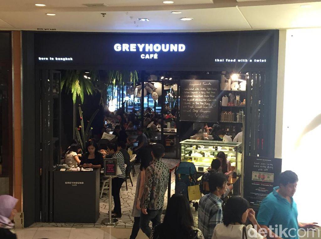 Greyhound Cafe, Tongkrongan Pecinta Kuliner Thailand yang Instagramable