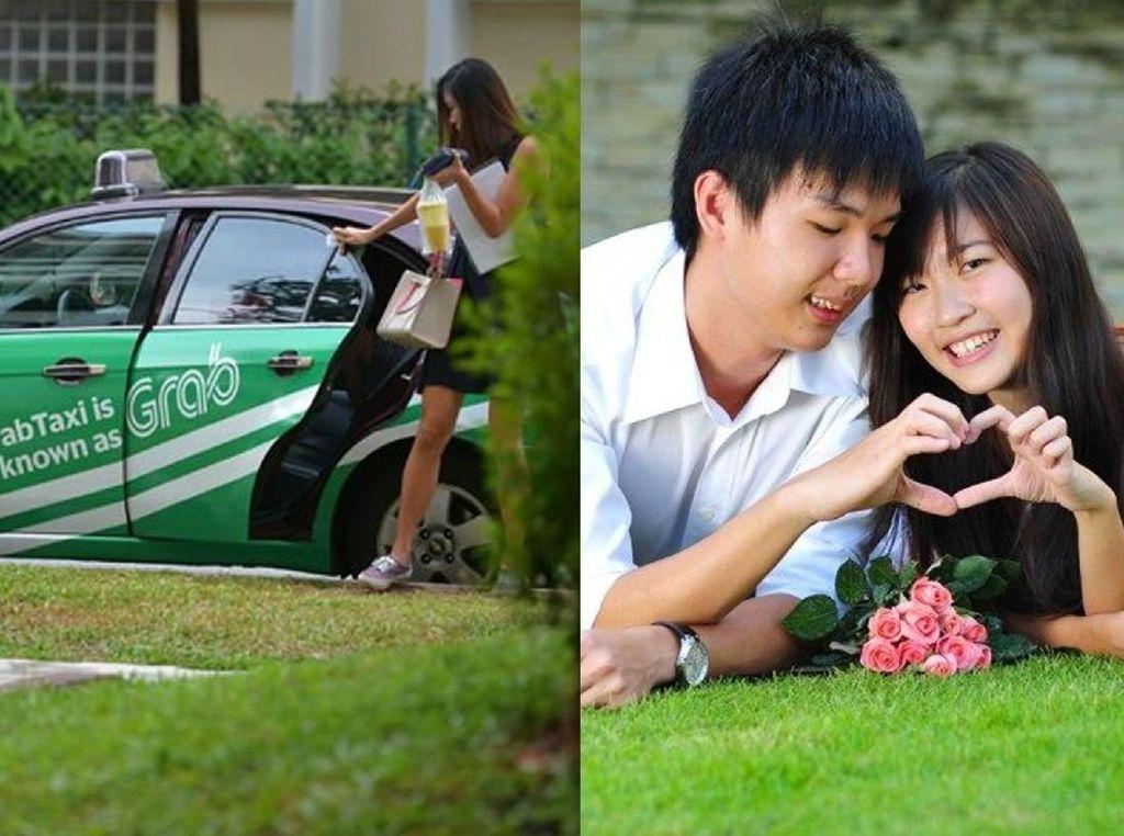 Kisah Cinta Tak Terduga, Bertemu Kekasih Saat Pertama Kali Pesan Taksi Online