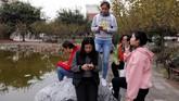 Popularitas e-sport mendorong pemerintah daerah dan perusahaan teknologi Tencent membangun sebuah universitas e-sport dan stadion di daerah Wuhu. (REUTERS/Tyrone Siu)