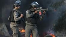 Israel Tembak Warga Palestina Diduga Melempar Batu