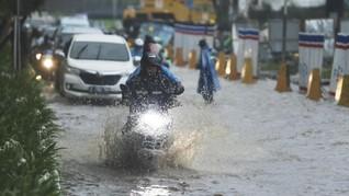 Hujan Diprediksi Guyur Jakarta Hingga Sore Nanti