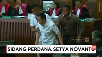 VIDEO: Setya Novanto Bergeming di Sidang Perdana