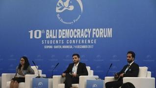 Jalan Denisa Mewakili Indonesia dalam Bali Democracy Forum