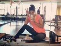 Dikutip dari detikHot Luna mengaku rutin melakukan pilates sekitar dua atau tiga kali dalam seminggu. (Foto: Instagram/lunamaya)