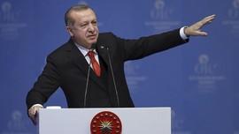 Erdogan Tuduh Negara Arab Dukung Tindakan Israel ke Palestina