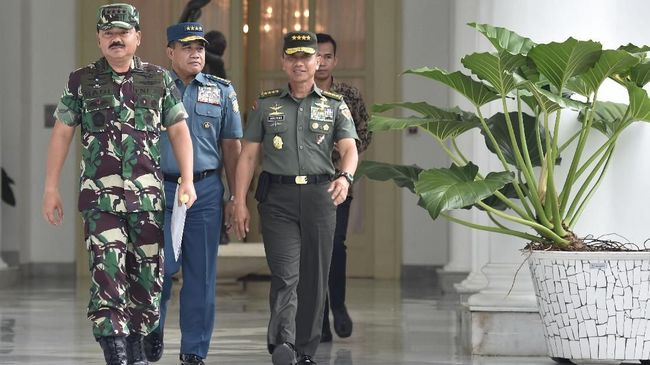 Survei Charta Politika: TNI Paling Dipercaya Publik
