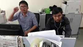 Sekjen PBB dan Uni Eropa Desak Myanmar Bebaskan Dua Wartawan