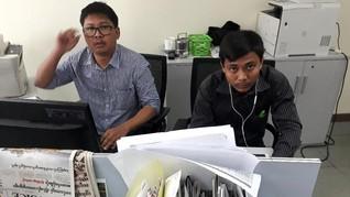 PBB Berharap Pemerintah Myanmar Ampuni Dua Wartawan Reuters