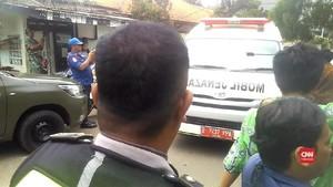 VIDEO: Saat Jenazah AM Fatwa Tiba di Rumah untuk Disalatkan