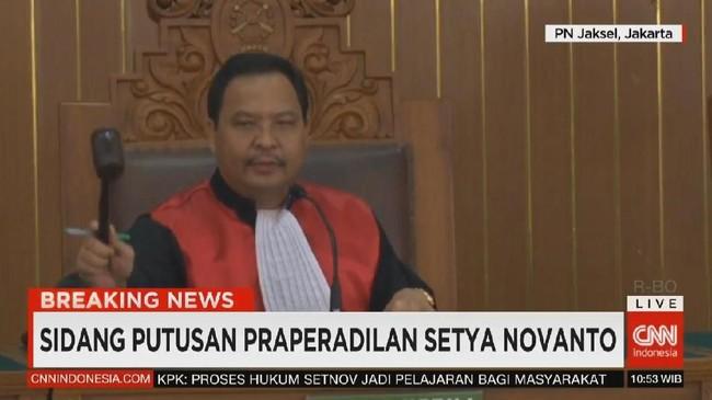 VIDEO: Kandasnya Perlawanan Setnov di Praperadilan