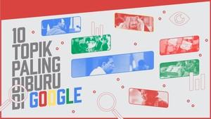10 Topik Paling Diburu di Google Sepanjang 2017