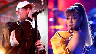 Fan Duga Ariana Grande Ikut Nyanyi di Lagu Baru Mac Miller