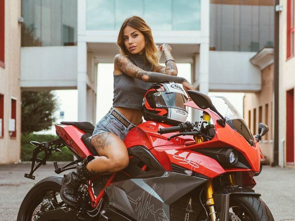 Foto: Ini Motor Listrik yang Bakal Tarung di MotoGP 2019