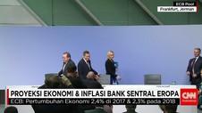 Bank Sentral Eropa Tingkatkan Proyeksi Pertumbuhan Ekonomi