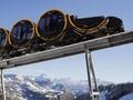 Swiss Resmikan Jalur Kereta Curam di Pegunungan Alpen