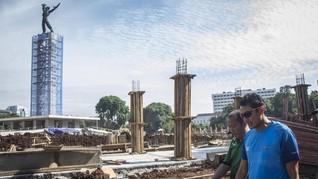Sandi Sebut Perbaikan Lapangan Banteng Picu Demam Asian Games