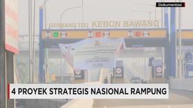 Baru 4 Proyek Strategis Nasional yang Rampung
