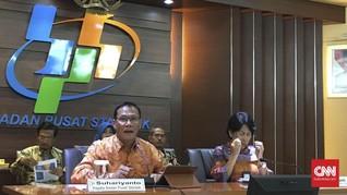 BPS: Inflasi November 0,14 Persen, Naik Dibanding Bulan Lalu