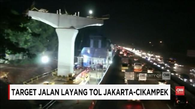 VIDEO: Jalan Layang Tol Jakarta-Cikampek Rampung 2019