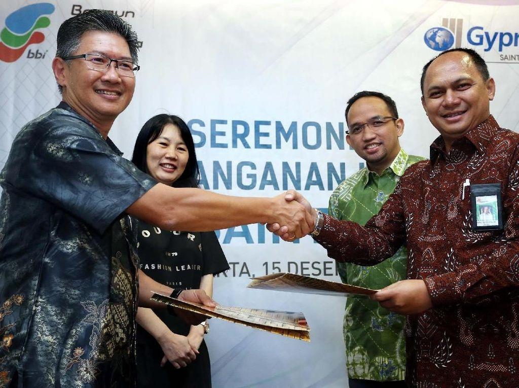 Saint-Gobain Gandeng PT Bangun Bantala Indonesia